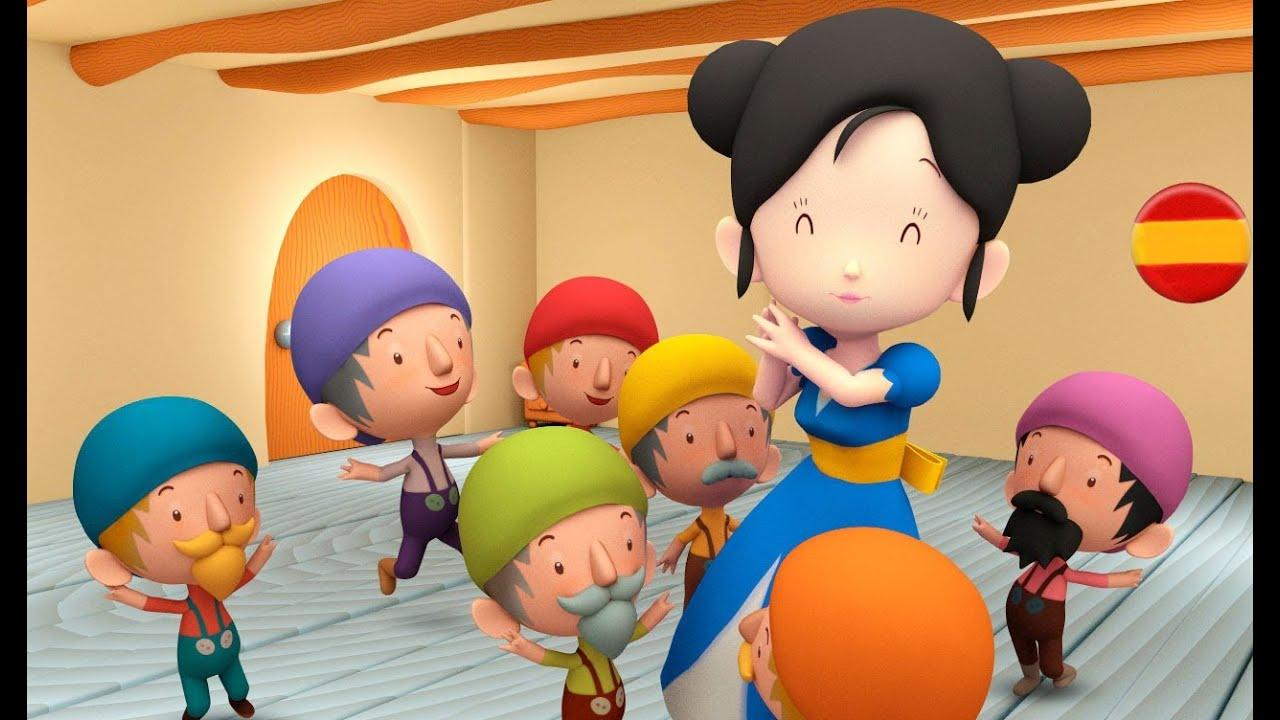 Blancanieves y los 7 enanitos cuentos infantiles en - Blancanieves youtube cuento ...