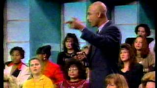Frankie Dee Strips! On The Montel Williams Show