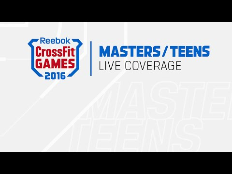 The CrossFit Games - D-Ball Triplet: Teens & Masters
