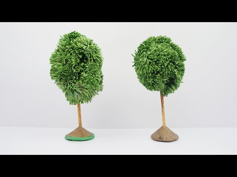 Easy DIY Paper Tree -- TCraft from YouTube · Duration:  3 minutes 48 seconds