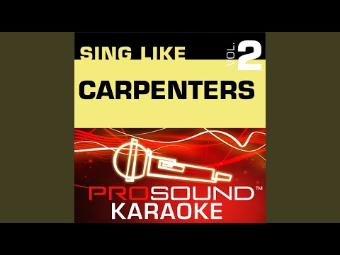 Bless The Beasts And Children (Karaoke Instrumental Track) (In The Style Of The Carpenters)