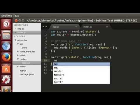 µCast #16: Pi + Express + Bootstrap + Angular FTW!
