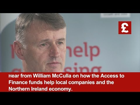 William McCulla | Invest NI | Access to Finance