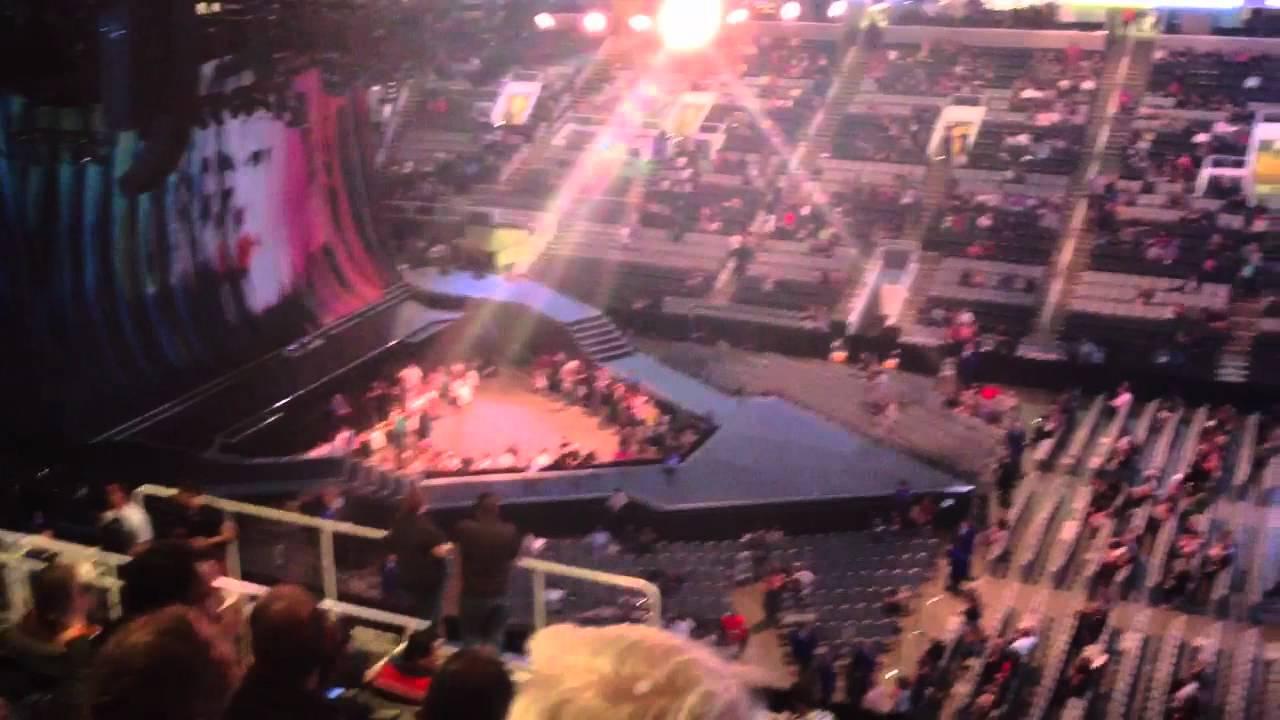 Hp Pavilion San Jose Upper Seating View Youtube