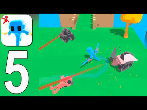Samurai Flash - Gameplay Walkthrough Part 5 - Level 105-128(iOS, Android)