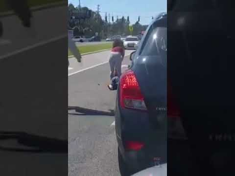New Port Richey Road Rage Beatdown