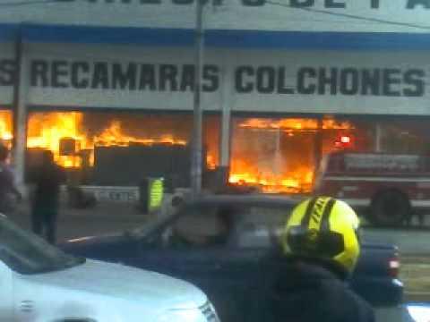 Ups incendio de la muebleria de ecatepec youtube - La muebleria ...