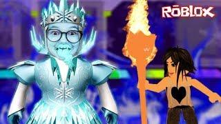 Roblox - LULUCA FINGE SER A RAINHA DA NEVE (Destroy the Snow Queen) | Luluca Games