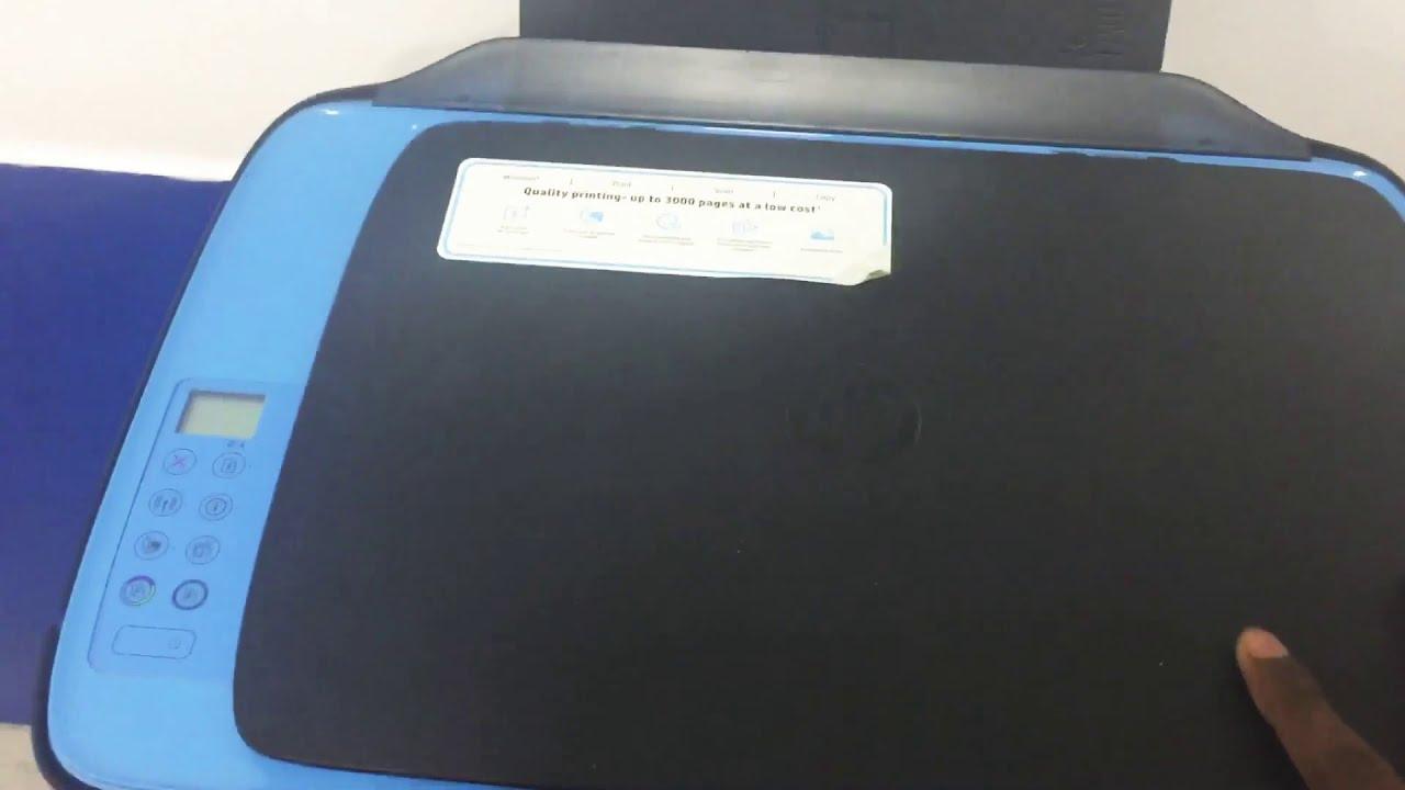 How to Unboxing & Setup HP Deskjet 2652 Printer - YouTube