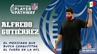 IPP Camino a la NFL: Alfredo Gutiérrez, el mexicano que busca un lugar en la NFL