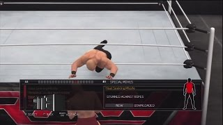 WWE 2K17 FUTURE STARS PACK DLC MOVES PS3/360