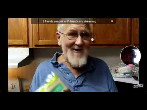 reacting-to-the-angry-grandpa-show-grandpa's-fried-candy-bar-egg-rolls!!