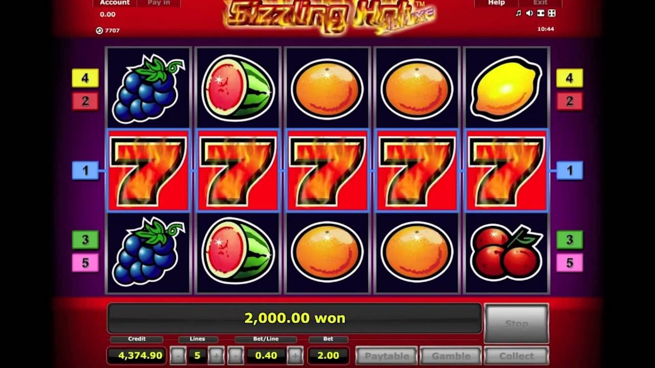 Sizzling Hot Slot Game Free Download