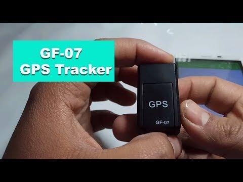 GF-07 Magnetic Mini GPS Real-time Tracking Locator - BLACK