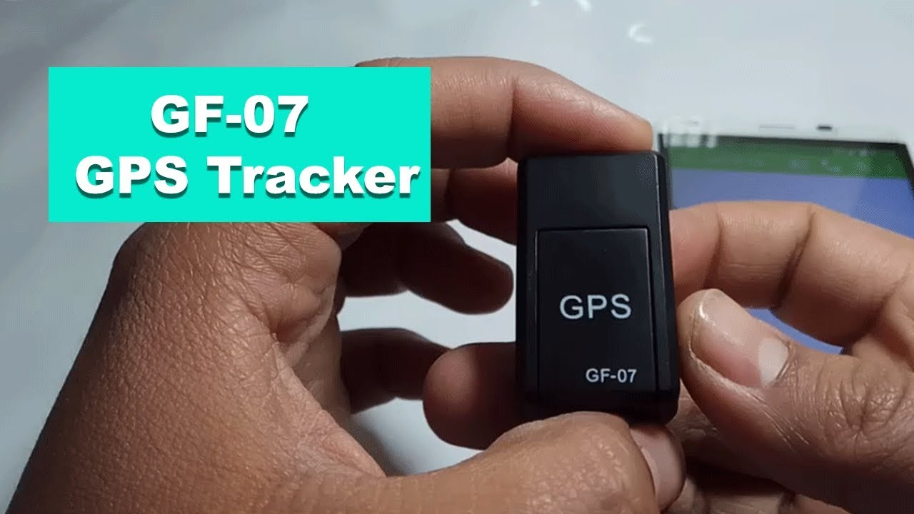 f52e193fd GF-07 Magnetic Mini GPS Real-time Tracking Locator - BLACK - YouTube