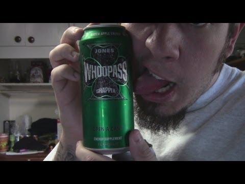 Energy Drank - Jones Whoopass Green Apple vs. Sea2O Organic Energy Drink
