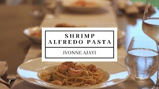 Shrimp Alfredo Pasta Recipe | DineWithMuni