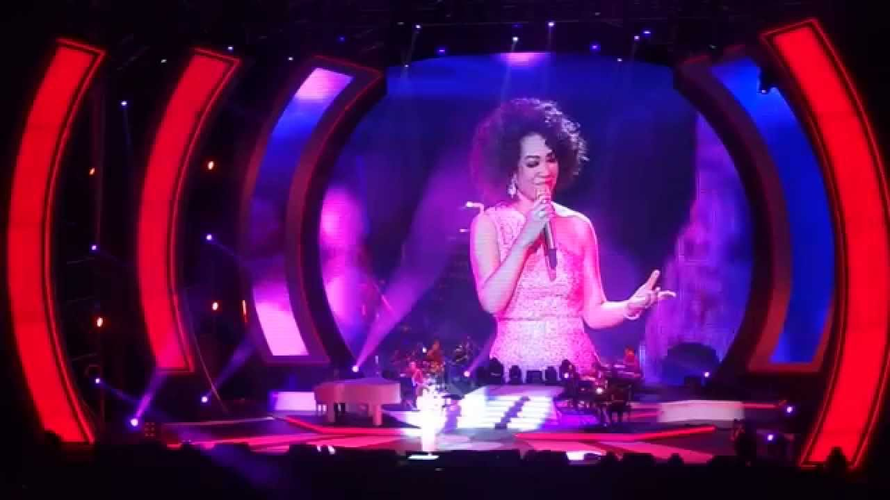 蔡琴2014高雄巨蛋《好預兆》演唱會尾聲-下