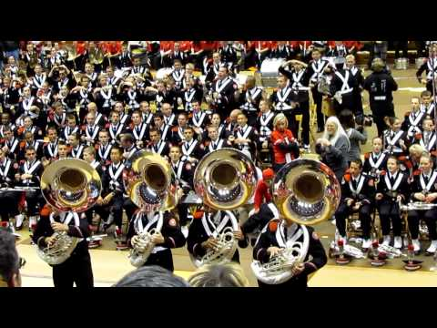 OSUMB 10 29 2011 Skull Session Buckeye Swag Sousa and Drum Line Ohio State University Marching Band