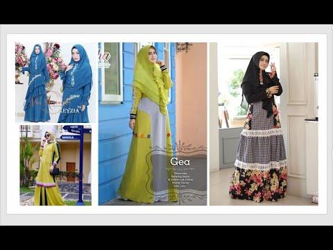 Model Baju Wanita Berhijab Terbaru 2019 2020 Muslimah Hijab Fashion Style Youtube