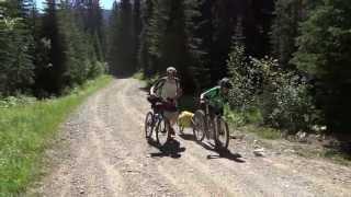 Whitefish Bicycle Camping