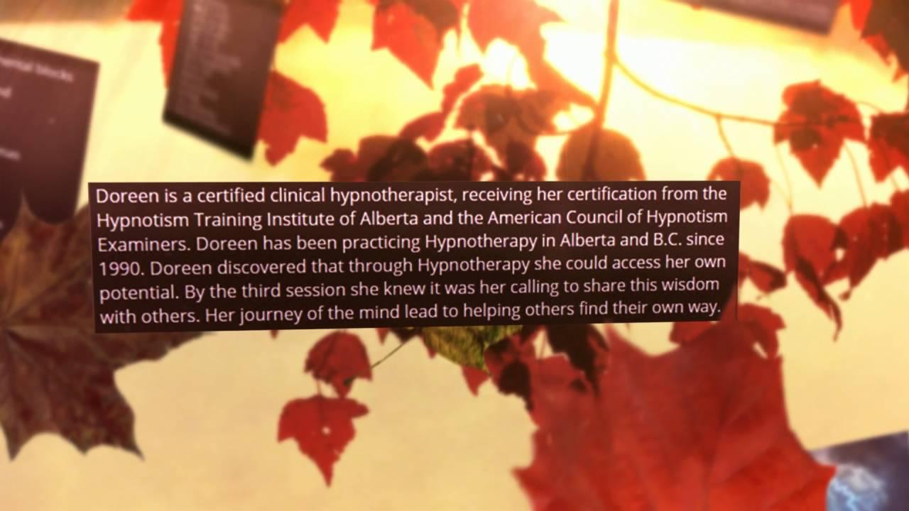 Hypnotherapy By Doreen | Kelowna | 250-763-1601