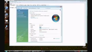 How to fix missing cd-drive error (Vista)