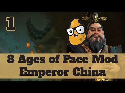 Civ 6 Modded China Ep. 1 - Let's Play Civ 6 Qin Shi Huang in the 8 Ages of Pace mod!
