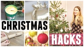 DIY HACKS AND IDEAS! Decorating My Home For Christmas