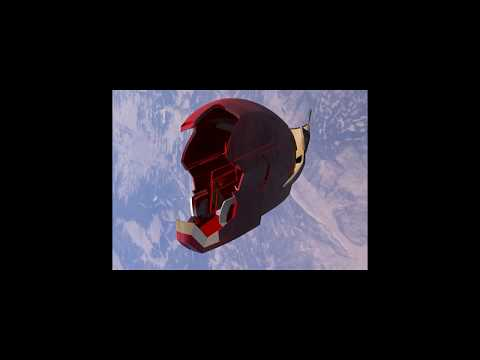 Iron Man Helmet Animation using Cinema4d and Aftereffects