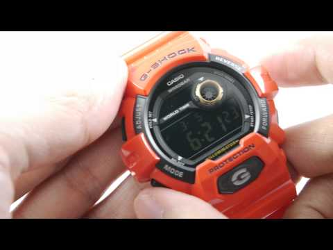 Review CASIO G-SHOCK G-5600NV-2 Navy Blue Limited editi ...