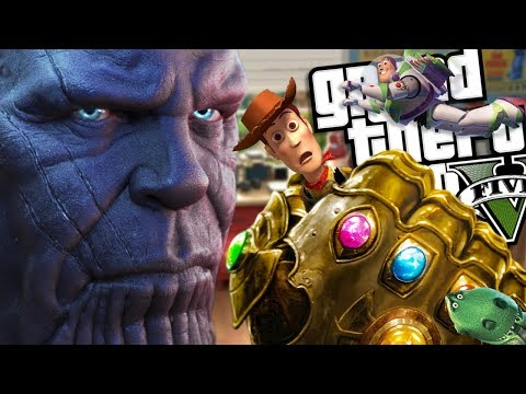 The NEW Toy Story 4 VS Thanos MOD (GTA 5 PC Mods Gameplay)