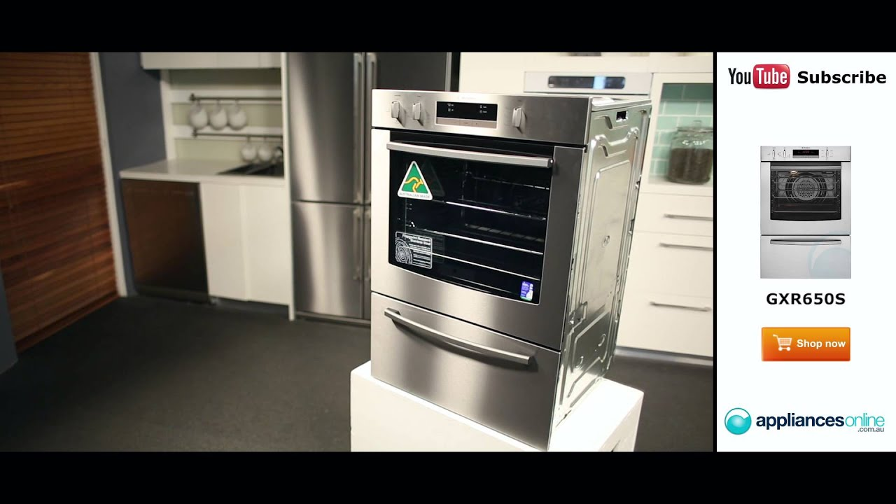 60cm Westinghouse Gas Wall Oven Gxr650s Reviewed By Product Expert