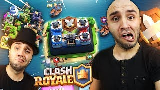 FIRST CLAND WAR AND DESTANSIVE CHAND - Clash Royale