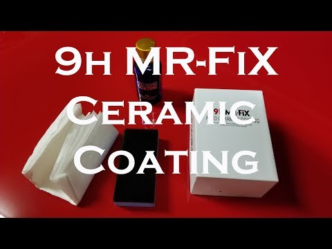 Protect Your Paint with Mr FiX Ceramic Coating For $10 Bucks Applied To My Scatpack.