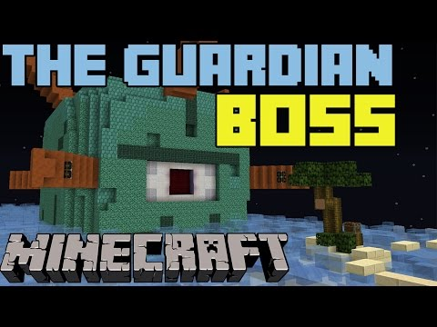 ŠTA NE PUCAŠ !!!!! -THE GUARDIAN BOSS -Minecraft mini igra-