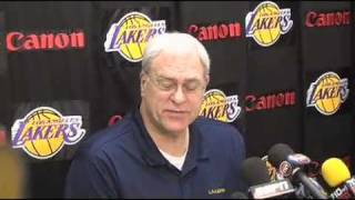 Lakers Coach Phil Jackson On Utah Jazz