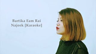 Bimbaakash - Najeek [Karaoke]