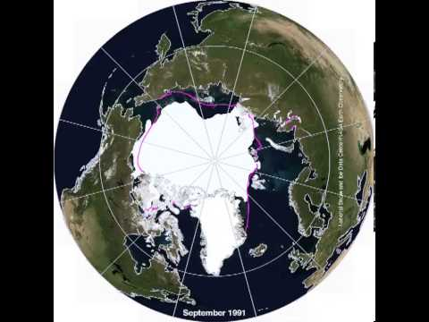 Arctic Sea Ice since 1979 (NSICS?Nasa Earth Observatory)