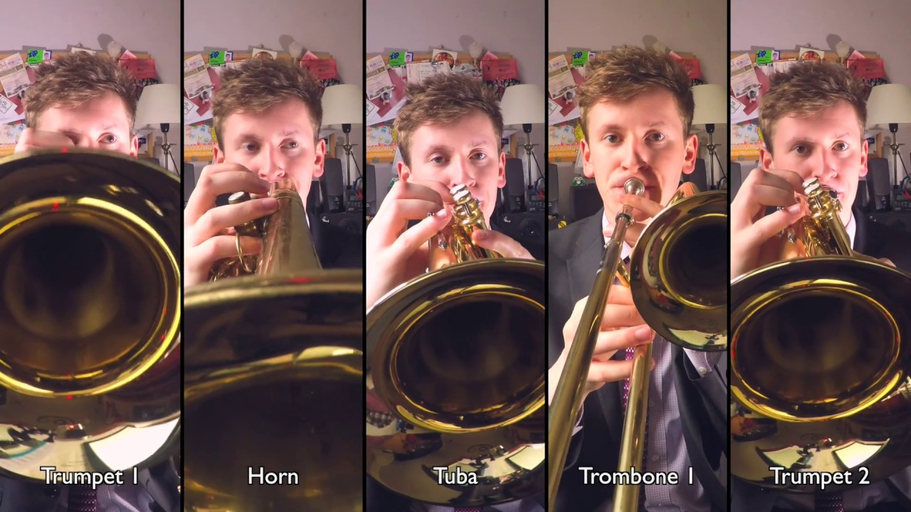 Coldplay - Amsterdam for Brass Quintet with sheet music