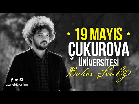Ozan Ekici - Çukurova Üniversitesi Konseri | Backstage
