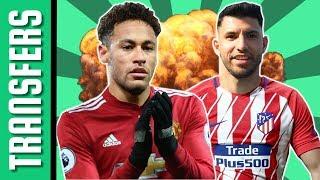Neymar a Man. Utd célkeresztjében! Agüero újra az Atletico Madridban? | Átigazolási hírek