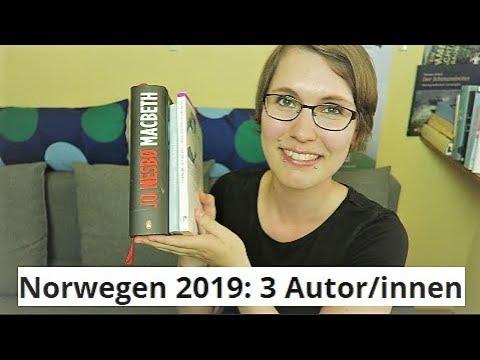 3 Norweger/innen und ihre Bücher | Thriller, Kurzprosa, Novellen
