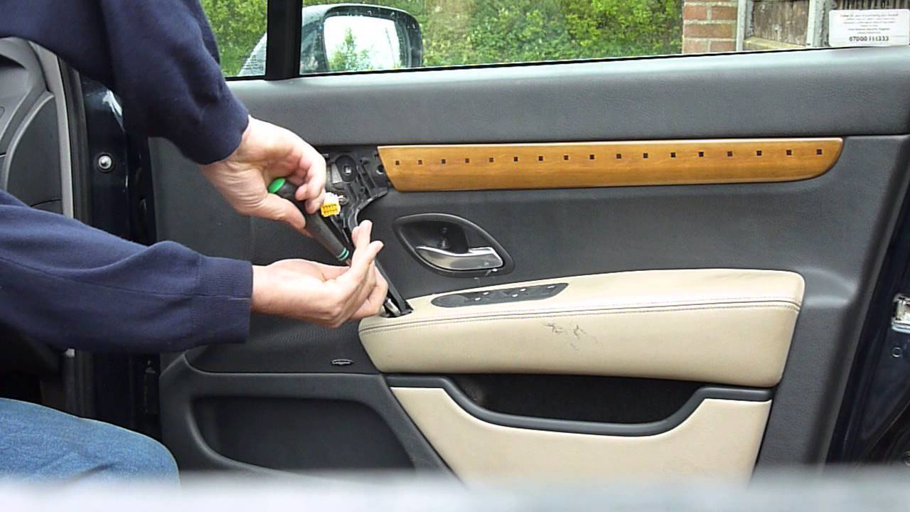 renault vel satis door card removal youtube. Black Bedroom Furniture Sets. Home Design Ideas