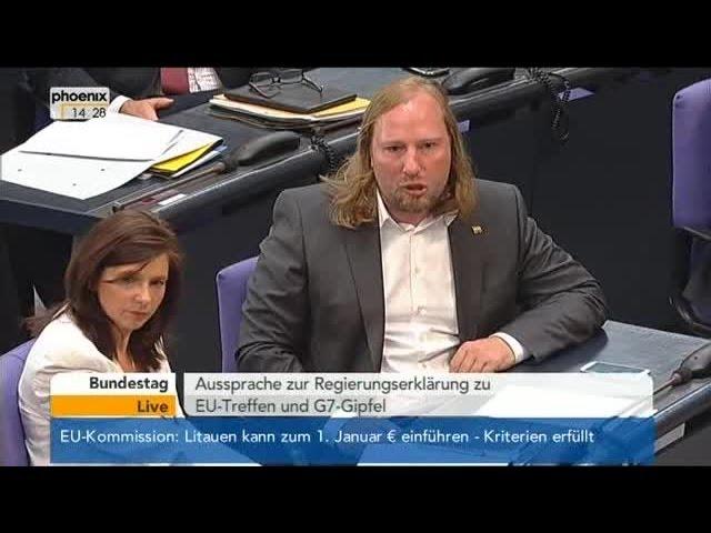 Anton Hofreiter Rastet Aus 04 06 2014