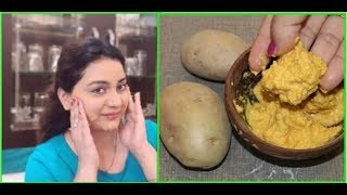 Use this Powerful Potato Scrub to Remove Dark Spots & look Younger Glowing