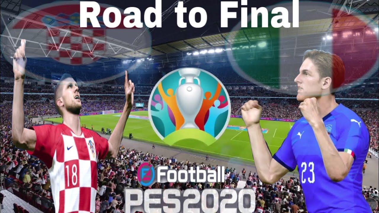 MEMANAS !!! SEMI FINAL UEFA EURO 2020 CROATIA VS ITALIA ...