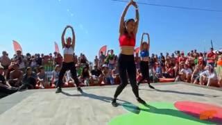 New Dancehall perfomance by DHQ Inga Feat. Ira, Sveta.