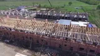 Ход строительства: 19 Апреля, 2016 | Таунхаусы
