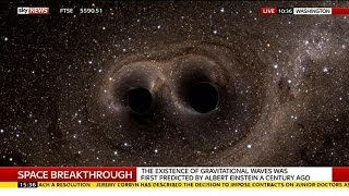 Scientists Announce Discovery Of Gravitational Waves